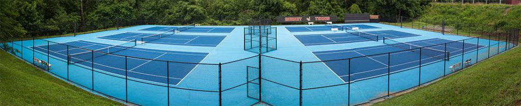 University of Lynchburg Tennis Courts